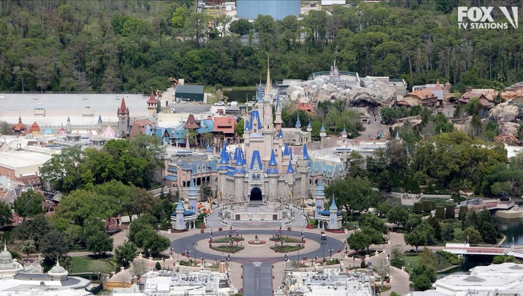 City Of Orlando, Theme Parks Empty As Coronavirus Threat Remains