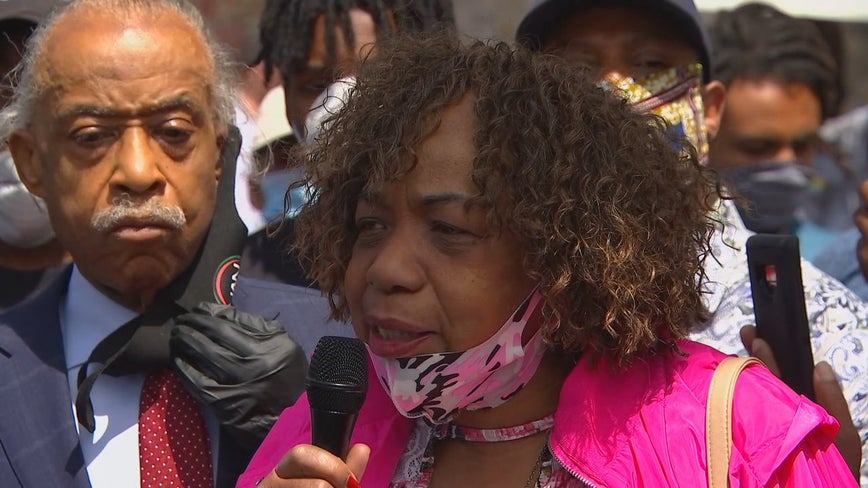 Eric Garner's mother: George Floyd's death is like an old wound being reopened