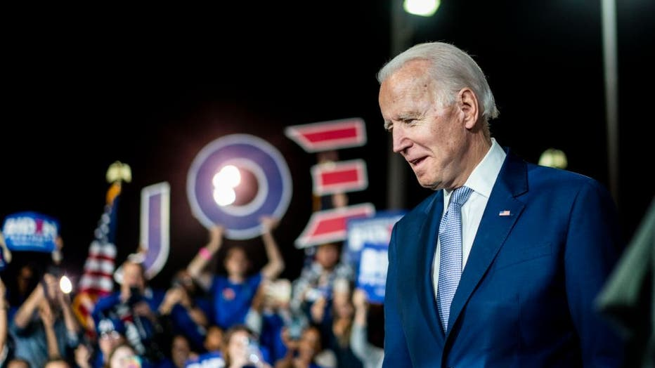 Democratic Presidential candidate former Vice President Joe Biden - Super Tuesday