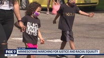 Hundreds of children march for change at Minnesota State Capitol