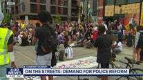 Group calls for Minneapolis Police Department to be defunded during rally