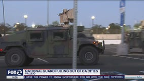 National Guard begins leaving Los Angeles, Vallejo, other cities
