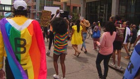 Twin Cities Pride marches for social and racial justice in Minneapolis