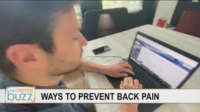 Ways to help prevent back pain while working from home