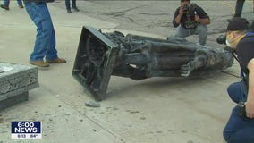 Toppled Christopher Columbus statue would cost $154,000 to repair