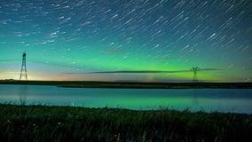 Canadian photographer captures breathtaking time-lapse of aurora borealis