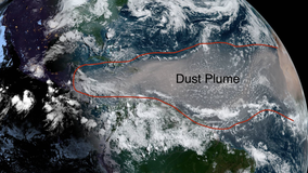 Saharan dust may be coming to Minnesota