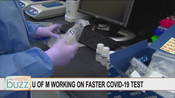 U of M working on new COVID-19 test that would take just hours for results