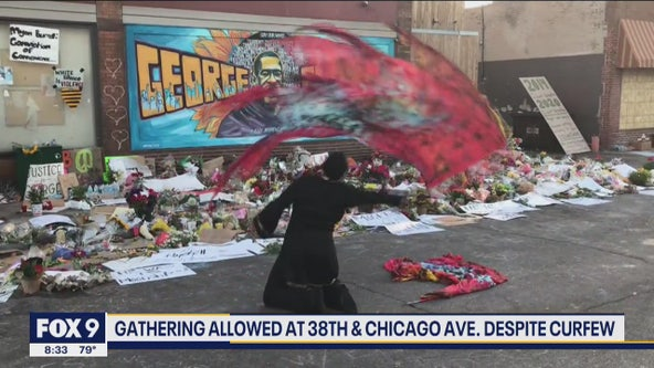 Dancer performs tribute to George Floyd at 38th and Chicago memorial