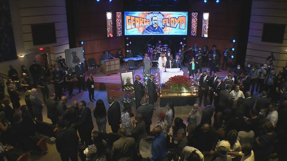 Minnesota sports figures attend memorial service for George Floyd
