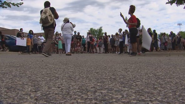 Children join protests in Minnesota after death of George Floyd