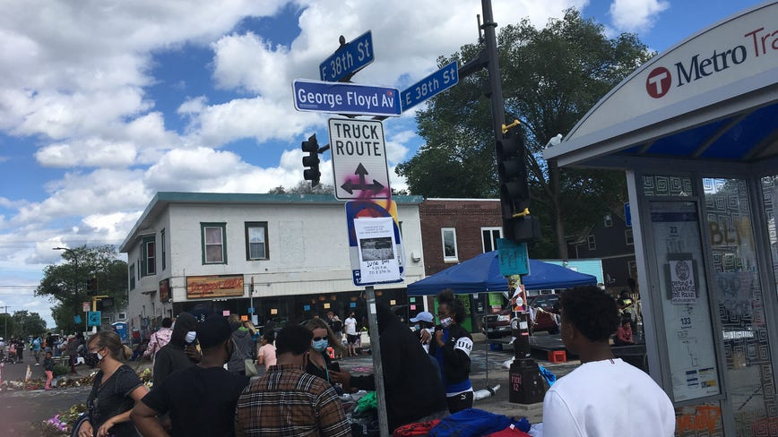 Minneapolis City Council approves renaming section of Chicago Ave. as 'George Perry Floyd Jr Place'