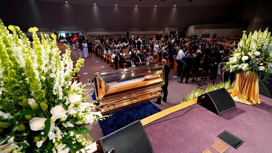 GETTY GEORGE FLOYD FUNERAL