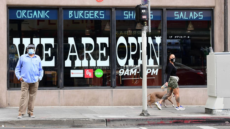 US-HEALTH-VIRUS-CALIFORNIA-LOSANGELES