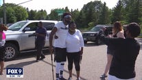 Moved by the death of George Floyd, Alabama man walking to Minneapolis as tribute