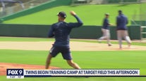 Twins begin training camp at Target Field Friday