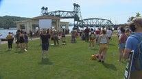 Dozens rally in Stillwater after incident involving 'Aryan Cowboys' biker gang
