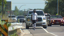 Moved by the death of George Floyd, Alabama man walks to Minneapolis as tribute