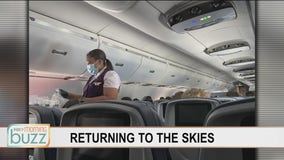 Pandemic changes: What it's like to fly again