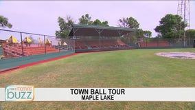 FOX 9 Town Ball Tour heads to Maple Lake
