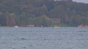 Water Patrol searching Lake Minnetonka for man who went missing after jumping in to save another swimmer