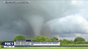 Deadly tornado tears through Ashby, Minnesota