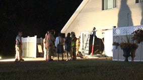 Police: Speeding car crashes into Apple Valley townhouse after evading officers