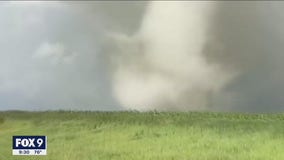 Stormchaser recounts close encounter with tornadoes in NW Minnesota