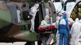 Military medics deploy in California, Texas as virus surges