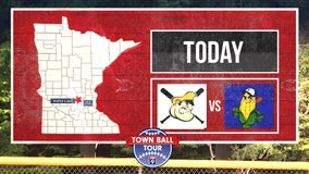 FOX 9 Town Ball Tour heads to Maple Lake for match-up between Lakers, Cokato Kernels