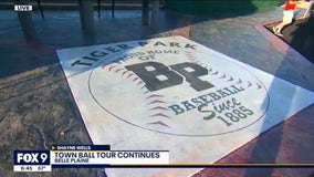 It's Tigers vs. Tigers in Belle Plaine, Minnesota for FOX 9 Town Ball Tour finale
