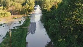 Mega-rain floods Highway 93, drawing concerns over failed bonding bill