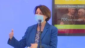 Senator Klobuchar urges public to make blood plasma donations during pandemic