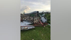 National Weather Service: Tornado touched down in Chisago County