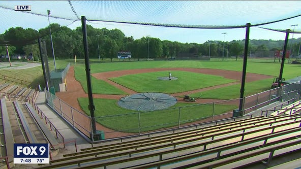 FOX 9 Town Ball Tour stops in Red Wing for Aces vs. Serpents rivalry game