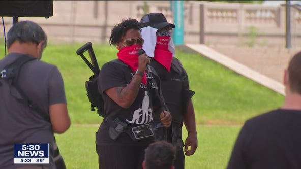 Protest at Minnesota capitol urges Black Americans to exercise 2nd Amendment rights
