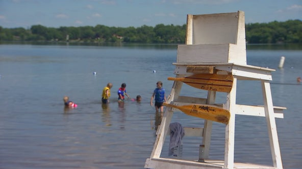 Ramsey County-run beaches will reopen Thursday ahead of holiday, but with no lifeguards