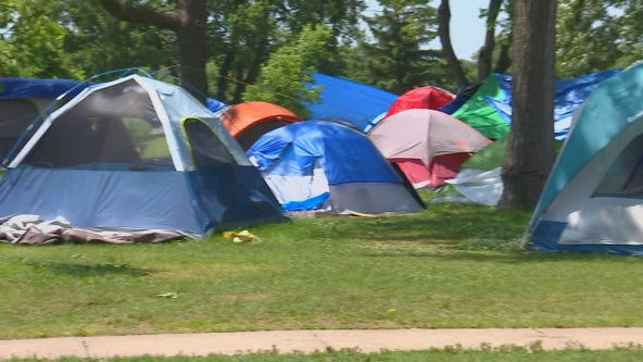 Minneapolis park board to consider limits to tent encampments at parks