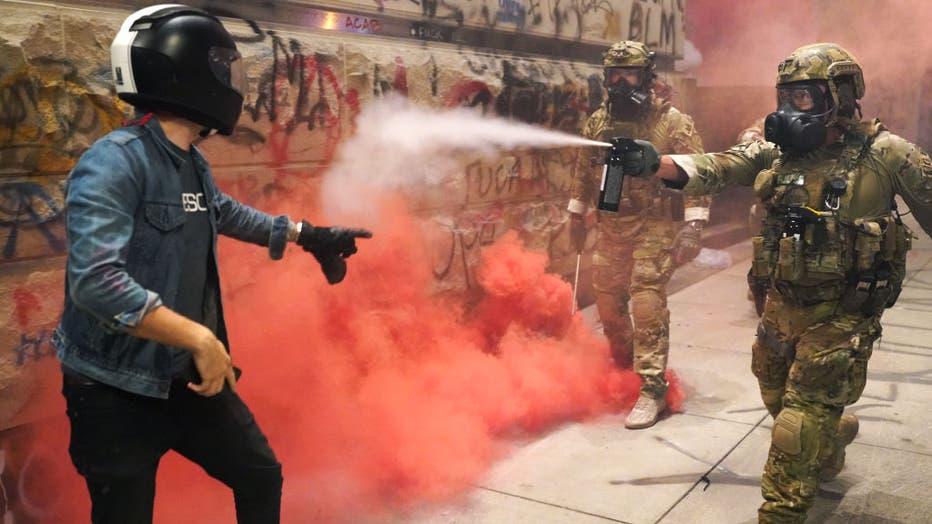 2193deb5-Feds Attempt To Intervene After Weeks Of Violent Protests In Portland