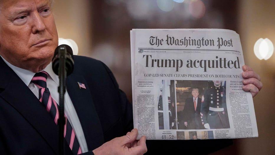 President Trump Delivers Statement On Senate Impeachment Trial's Acquittal