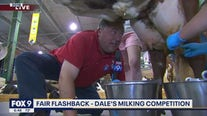 Fair Flashback: Dale's milking competition