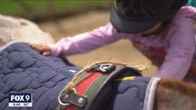 Minnesota horse therapy center helping children with special needs looks to add year-round services