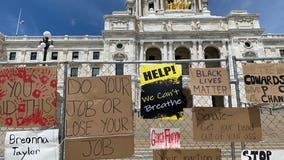 Minnesota's fence around the Capitol is costing $274 a day -- and it's staying up indefinitely