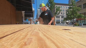 Minneapolis businesses assess damage following night of unrest