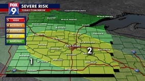 Steamy, possibly stormy Monday for central, southern Minnesota including Twin Cities metro