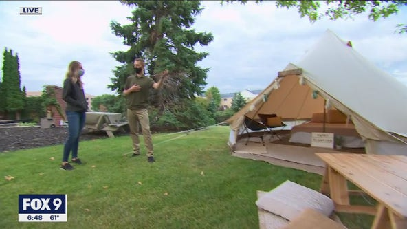 Twin Cities Company Brings Glamping Experience To You
