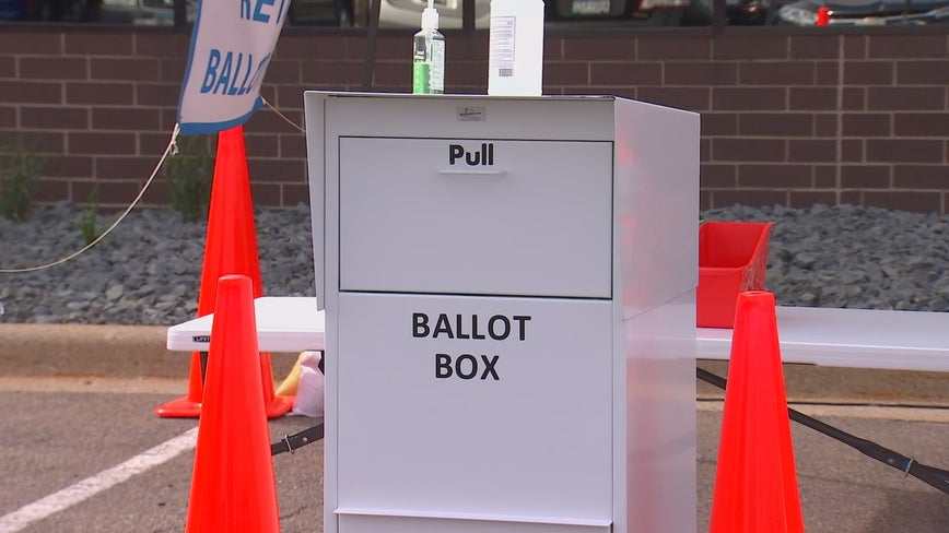 Minneapolis offering drive-thru ballot drop-off option