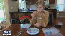 Waconia girl starts mask lanyard business