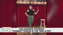 "Comedian Lisa Evanson chats with the Buzz after being named ""Funniest Person in the Twin Cities"""