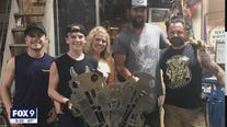 FOX 9 top Teacher's work catches the eye of Harley Davidson